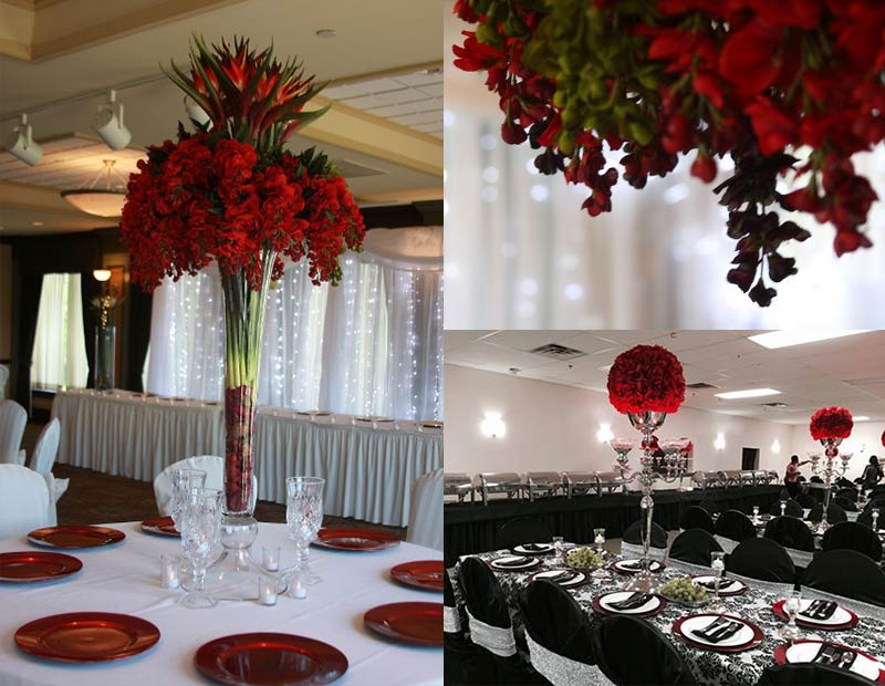 Beautifully Decorated Hall